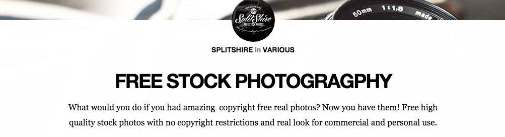 SplitShire Bancos de imágenes gratuitos
