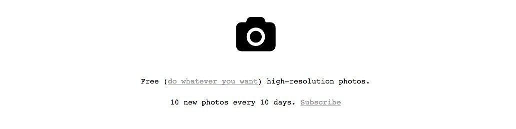 Unplash - Bancos de imágenes gratuitos