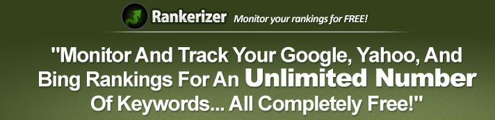 Herramientas para saber en qué posición está mi web: rankerizer posiciones web palabras clave