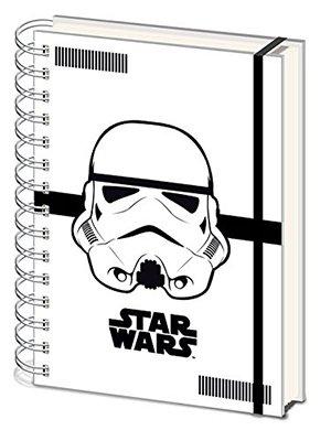 Los mejores regalos para marketeros: Libreta Star Wars Libreta A5 Soldado Imperial Blanco