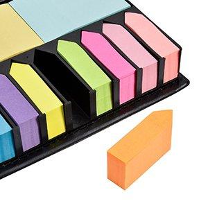 Los mejores regalos para marketeros: post it colores