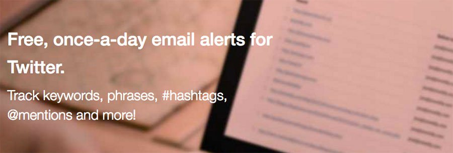 Warble Alerts. Alertas de keywords para Twitter