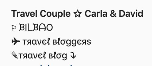 iconos especiales perfil instagram