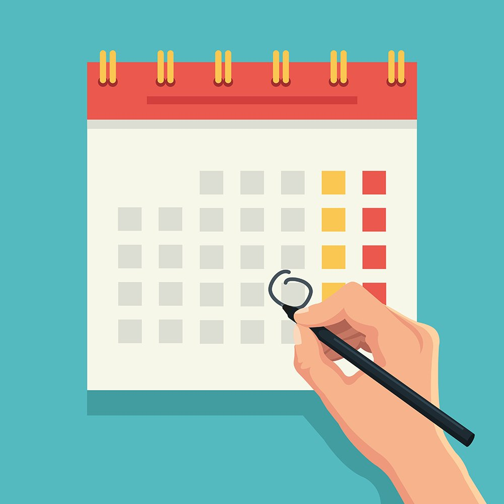 Calendario 2018 para community managers oink my god