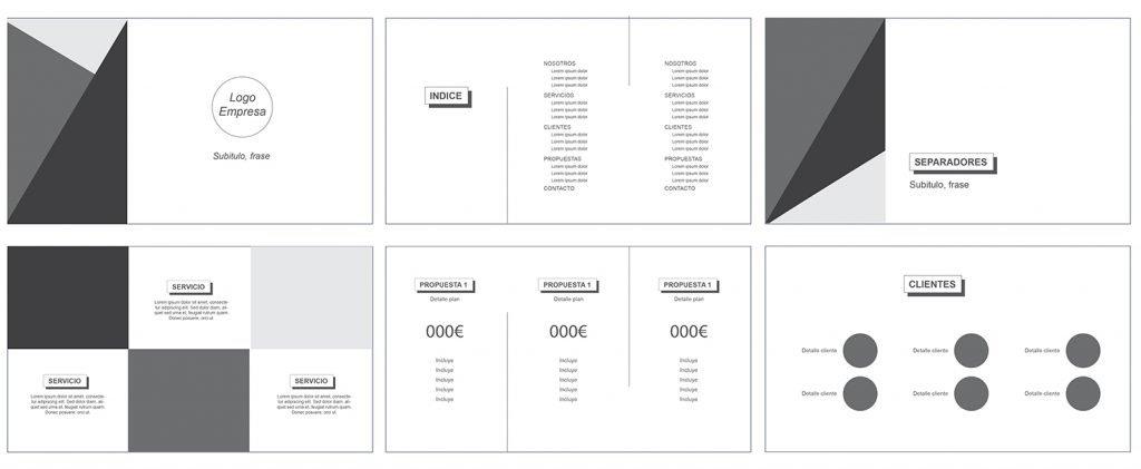 Plantilla editable para crear presentaciones de marketing - Oink my God