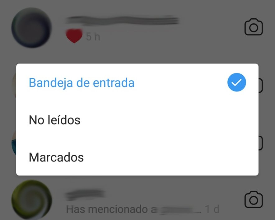 filtros DM instagram stories