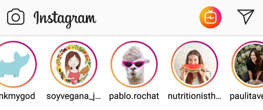 instagrm stories perfil instagram