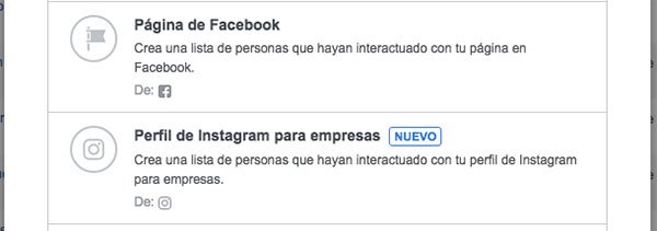 audiencia personalizada segun interaccion