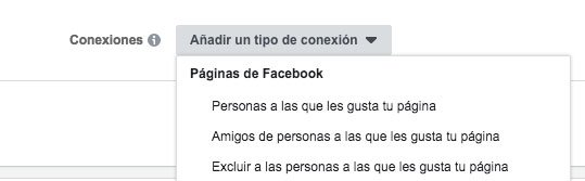conexiones facebook ads