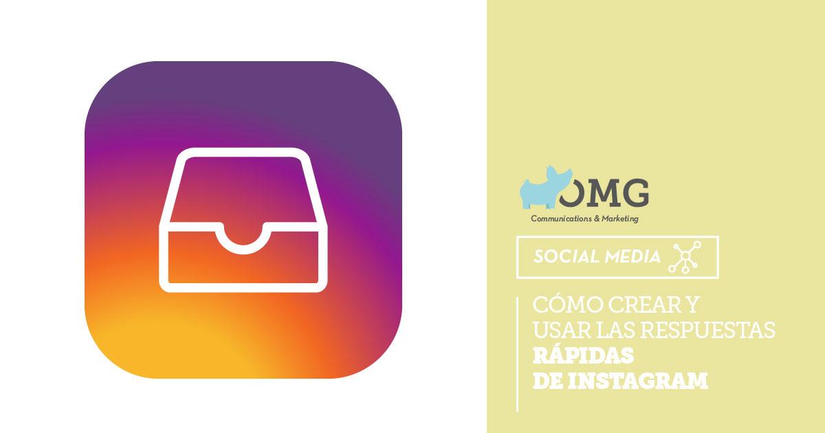 aprende a crear respuestas rápidas de instagram