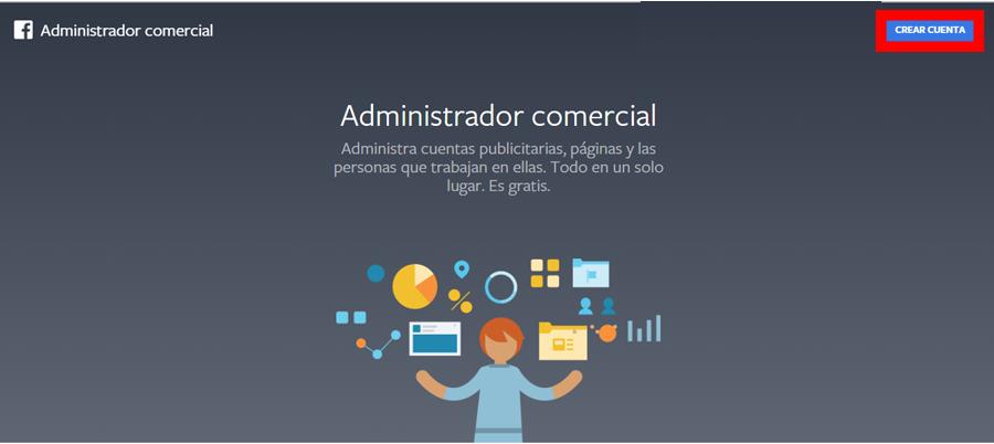 facebook business manager administrador comercial
