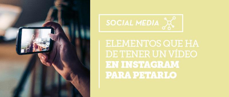 elementos videos instagram