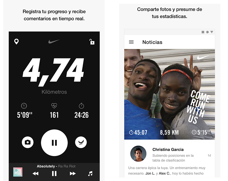 Nikerun mobile growth Actualizatec