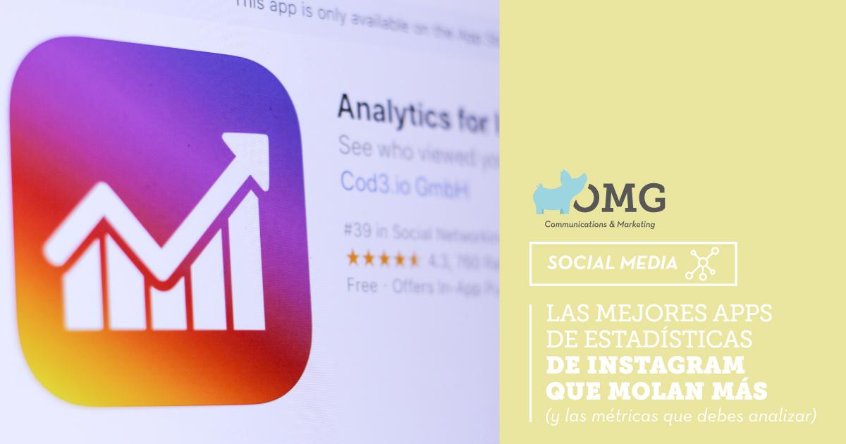 apps de estadísticas de Instagram