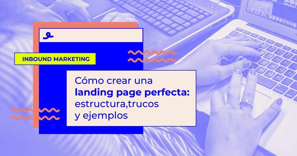 que es landing page