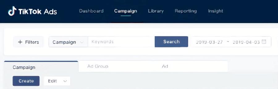 publicidad tiktok ads crear campaña