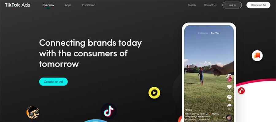 publicidad tiktok ads inicio
