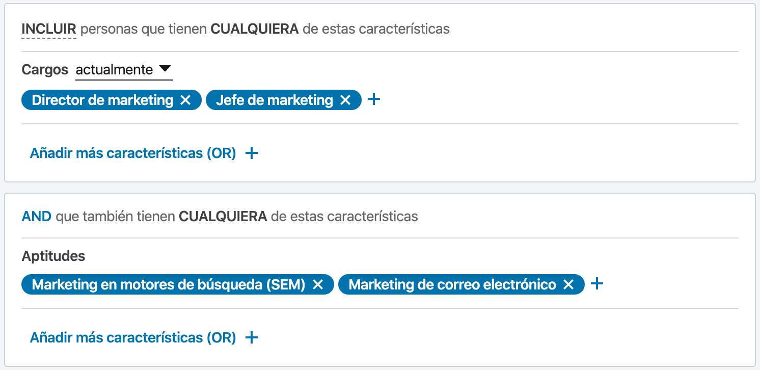 segmentacion marketing linkedin