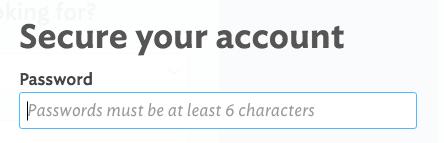 Guía al usario formulario de registro