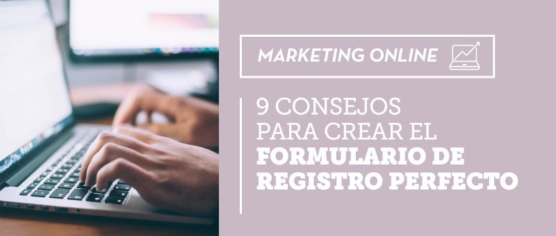 crear formulario de registro perfecto