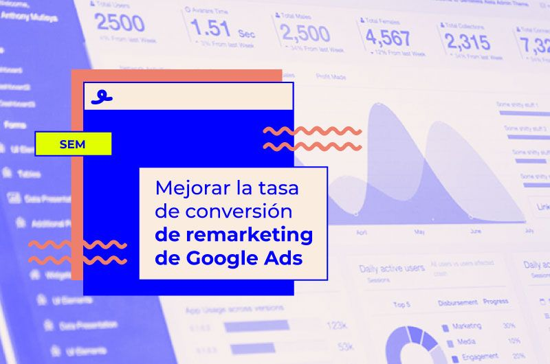 tasa conversion remarketing google ads