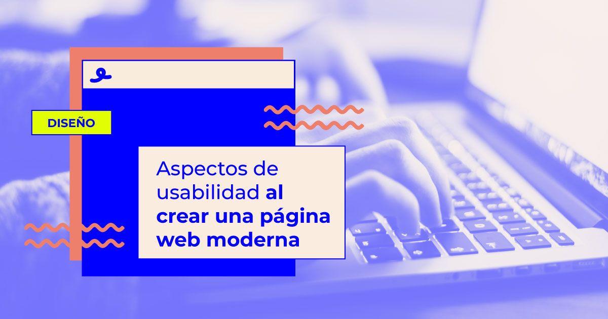 aspectos usabilidad pagina web