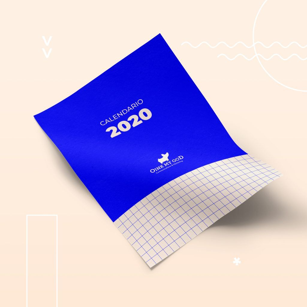 Calendario 2020 para Community Managers