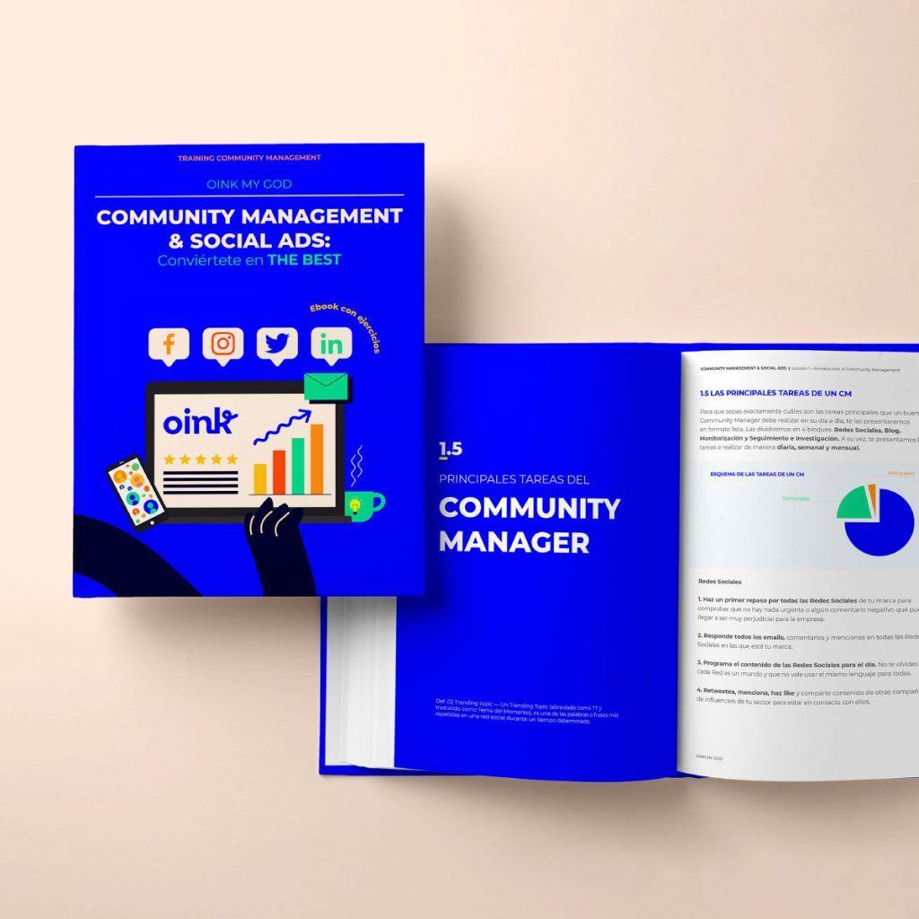 Ebook – COMMUNITY MANAGEMENT & SOCIAL ADS: Conviértete en THE BEST [Precio: 15€]