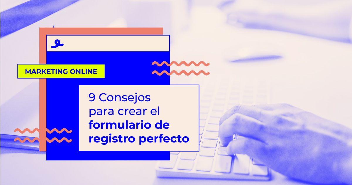 formulario de registro perfecto