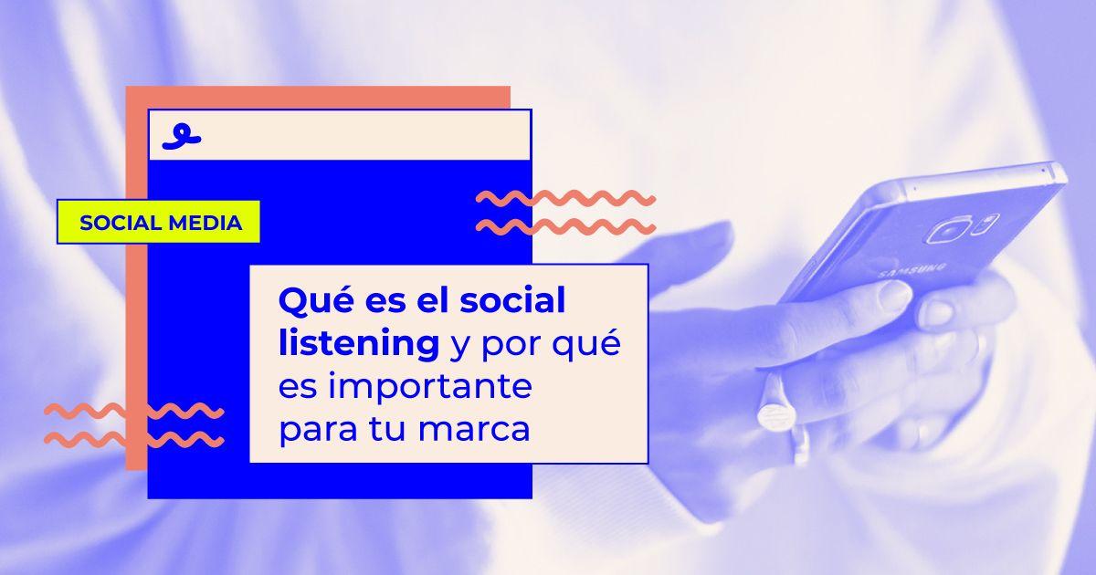 que es el social listening
