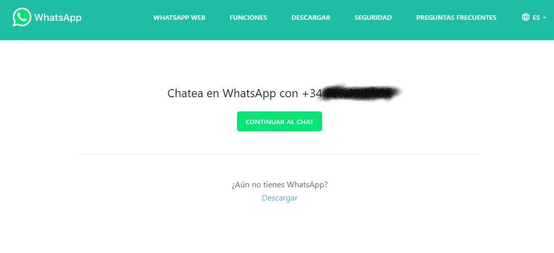 whatsapp chatear con yo mismo