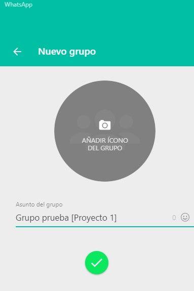 grupo nuevo whatsapp