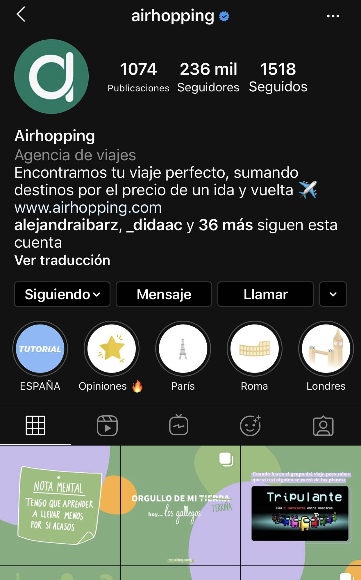ejemplo sorteo en instagram airhopping