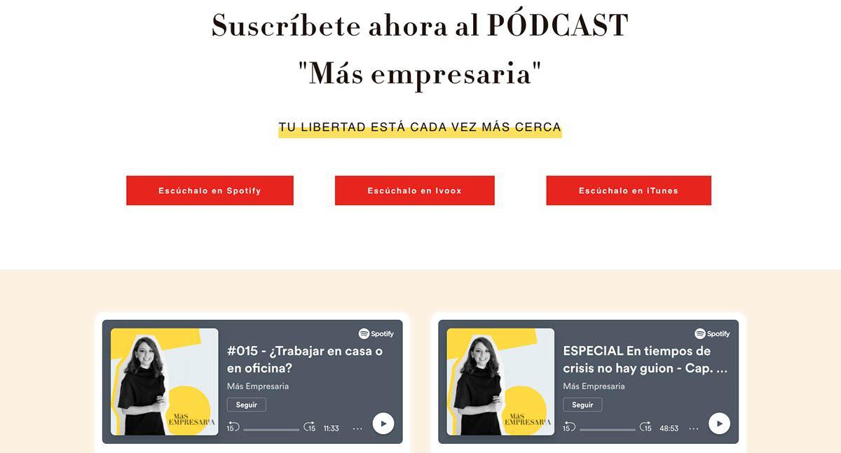 Más empresaria podcast eli romero