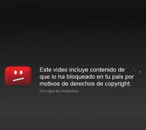 youtube copywright