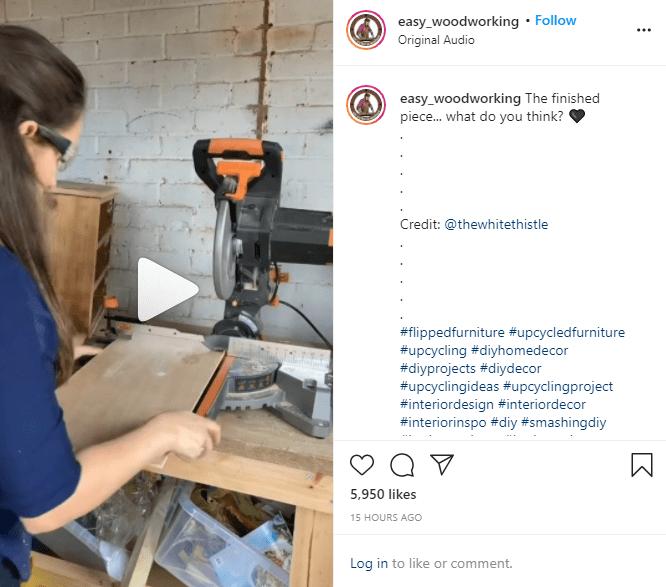 Instagram reels DIY