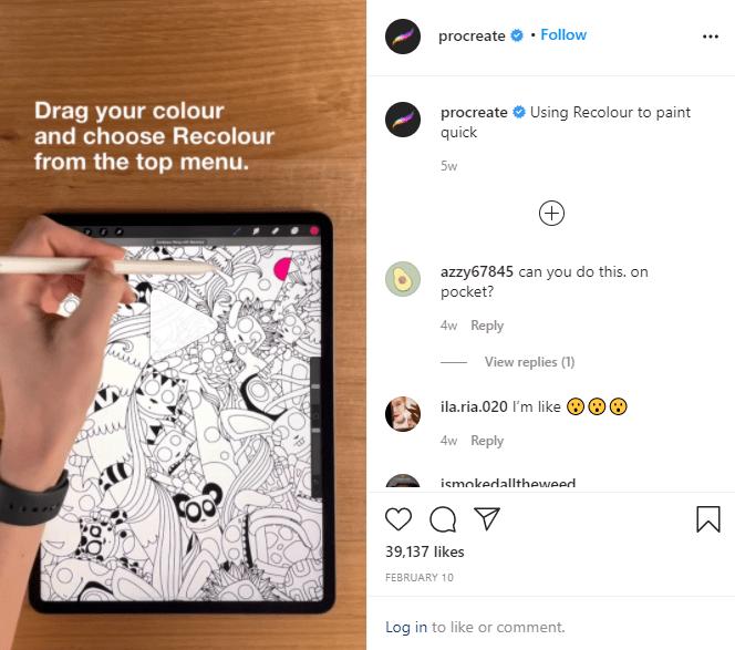 Instagram reels tutoriales