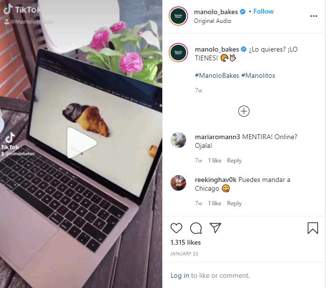 instagrams reels challanges