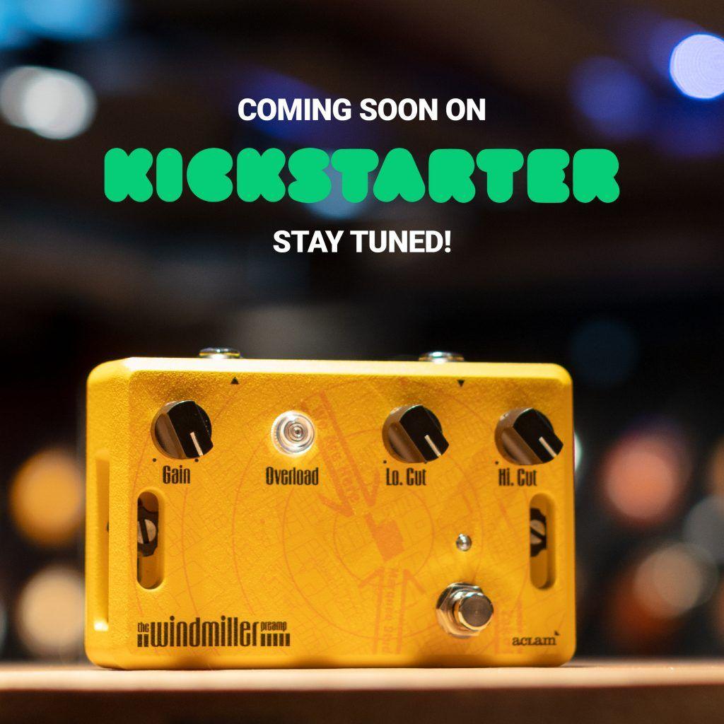 Ejemplo post Instagram preparación de Kickstarter de Aclam