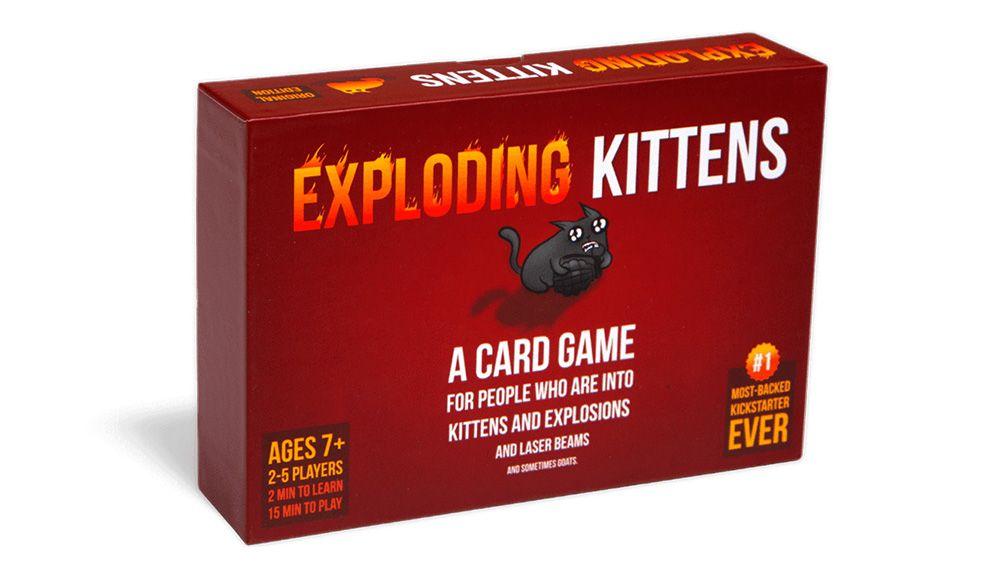exploding kittens ejemplo campaña kickstarter existosa
