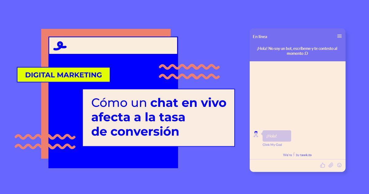Chat en vivo en tu ecommerce