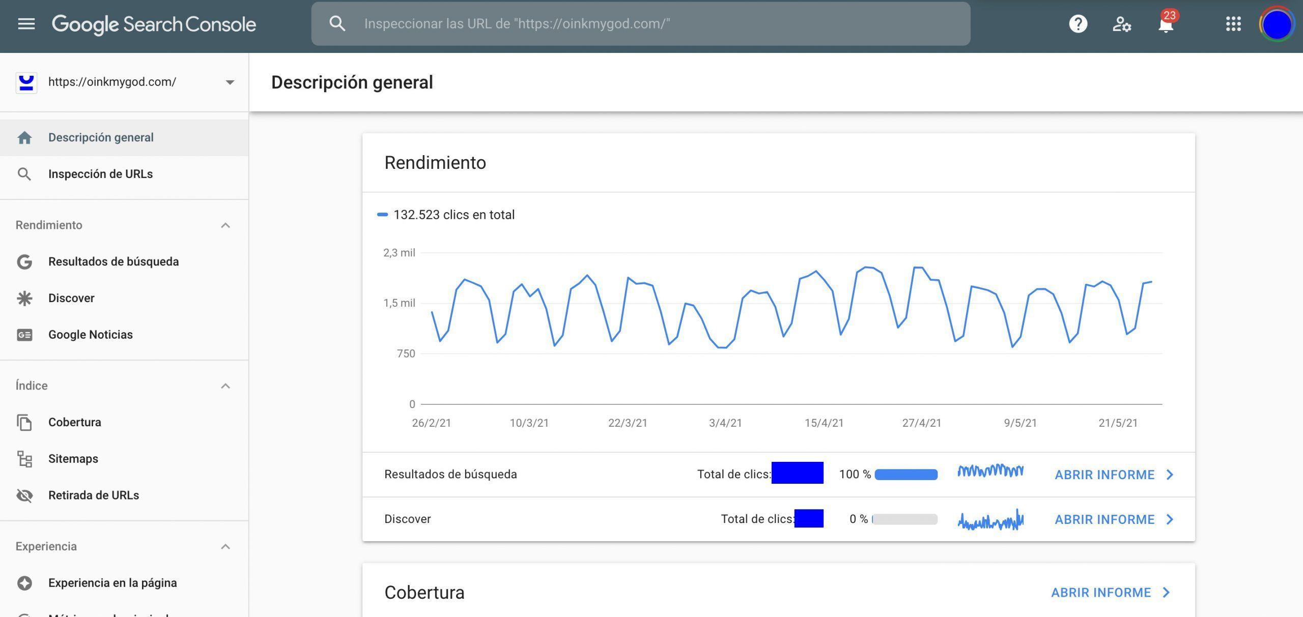 Google Search Console Descripcion General