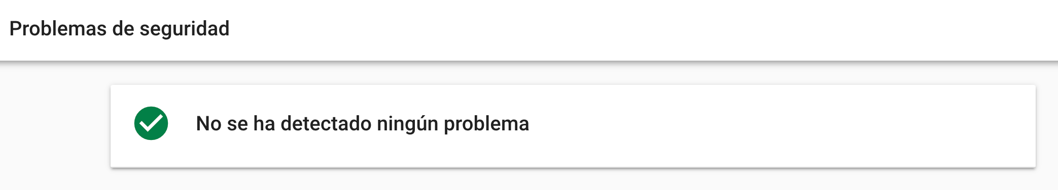 Google Search Console problemas de seguridad