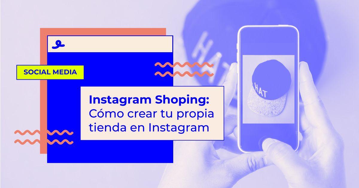 instagram shopping como crear tienda