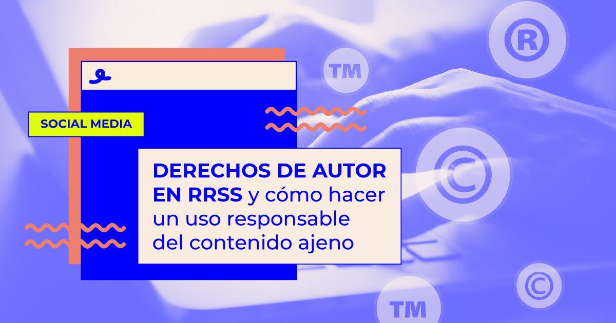 derechos de autor en redes sociales